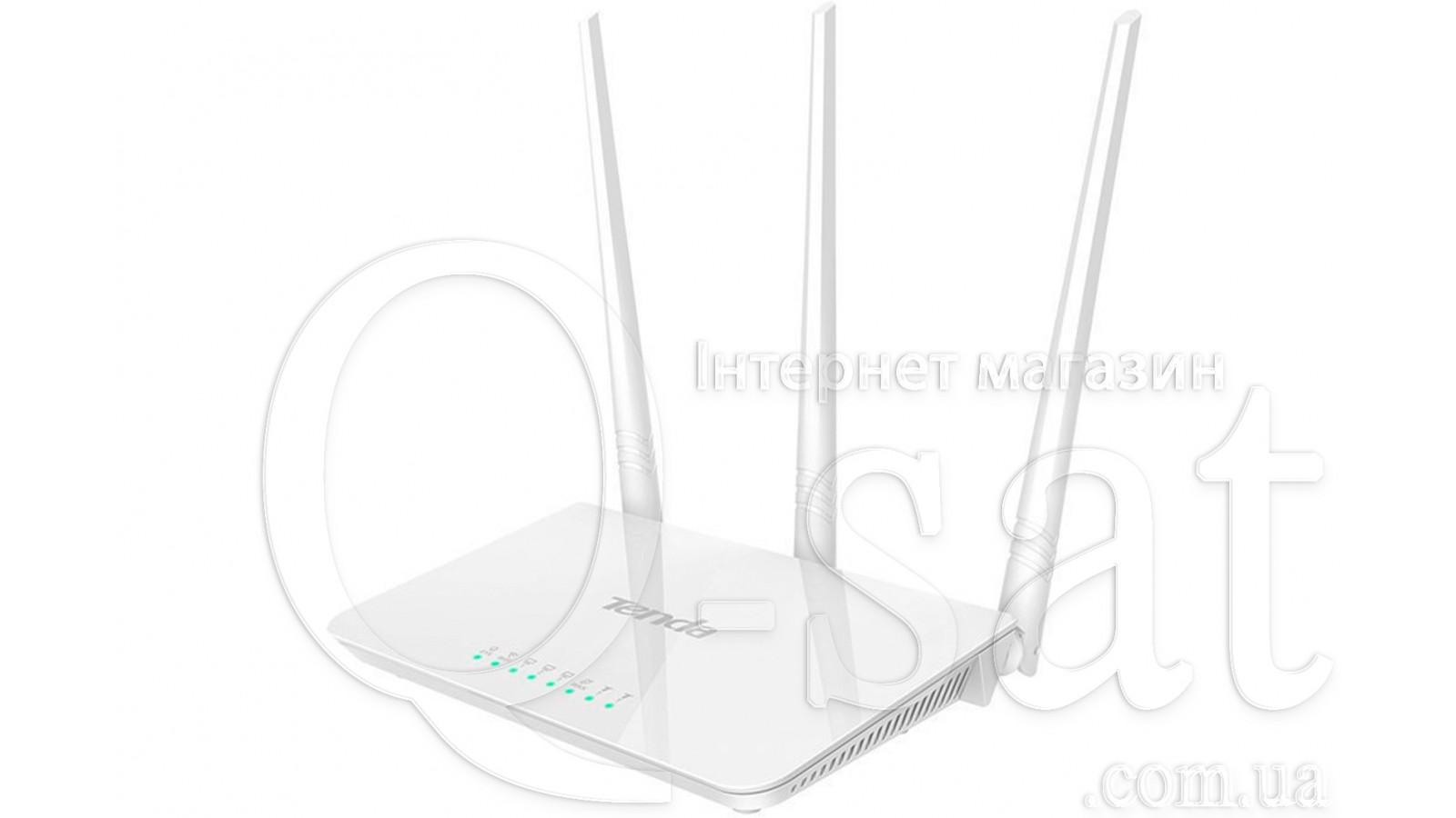 Wi-Fi роутер TENDA F3 300Mbps